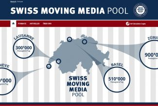 Lancierung des Swiss Moving Media Pools!